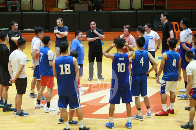 PBA lifting limit to number of players Gilas can call up per team possible, says Marcial