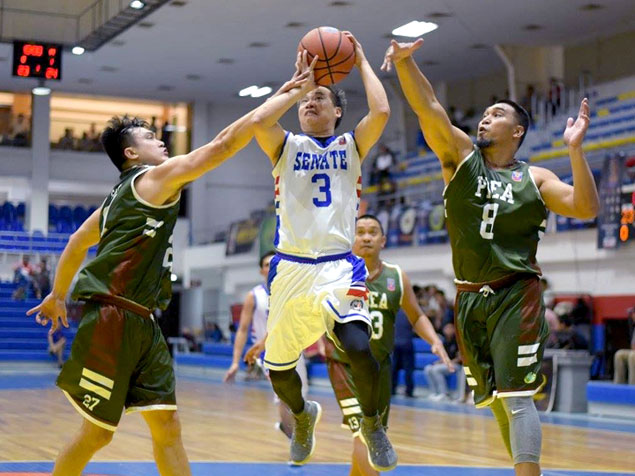 AFP finds range in the third to end NHA's five-game win run and clinch UNTV Cup semis berth