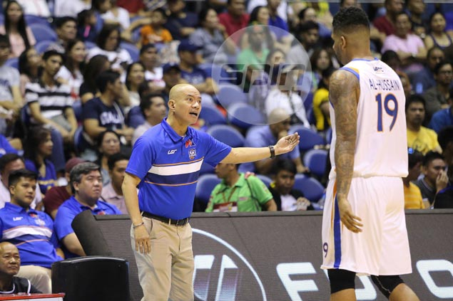 Guiao rues NLEX can't win too many games relying on a Ravena one-man show