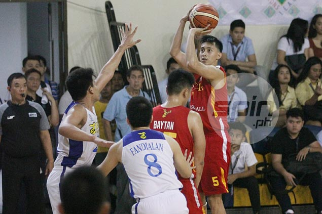 San Sebastian Stags rip PATTS Seahorses to get bid going in PCCL qualifiers