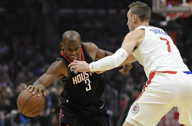 Clippers shoot down Rockets in testy game and spoil Chris Paul's return to LA