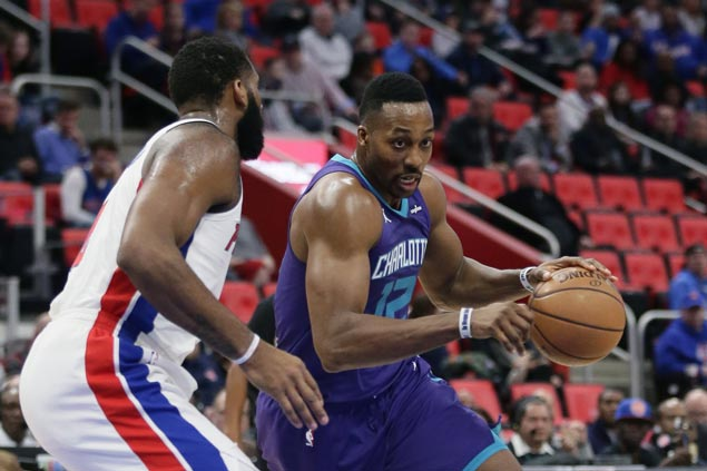 Dwight Howard outplays Andre Drummond as Hornets use second-half surge to beat Pistons