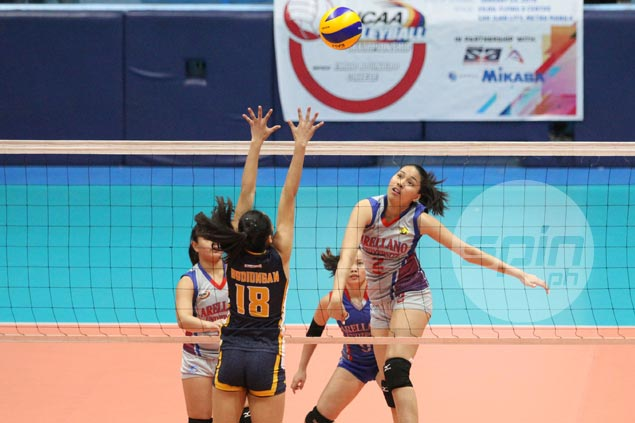 Arellano Lady Chiefs overcome JRU Lady Bombers in four to stay unbeaten in NCAA women's volley