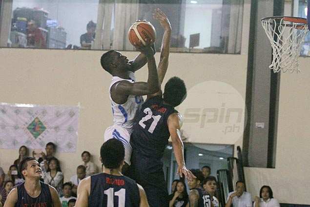 Soulemane Chabi Yo has 36 and 16 to power Griffins past Saints and into final of PCCL-NCR qualifiers