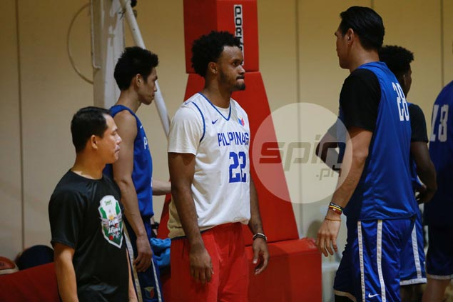 Gilas new boy Abu Tratter humbled to be in company of Fajardo, idol Norwood