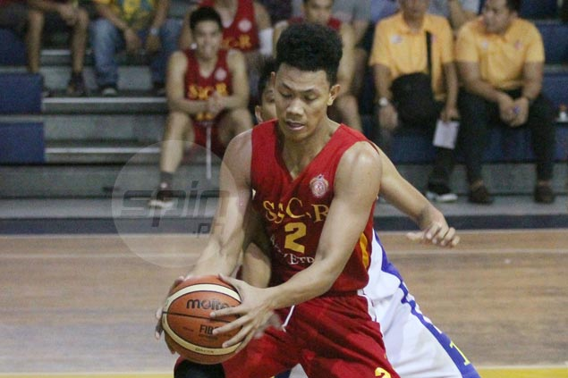 San Sebastian Stags overcome UP Maroons to gain playoff for spot in PCCL Elite Eight