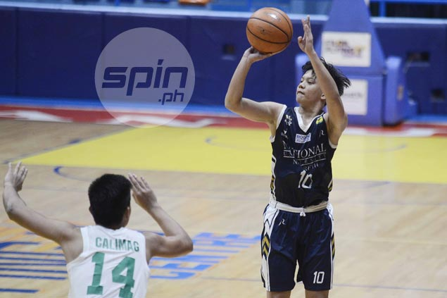 Hot-shooting Terrence Fortea leads NU Bullpups romp over DLSZ Junior Archers