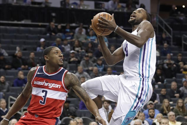 Hornets set franchise record 77 first half points and cruise to victory over Wizards