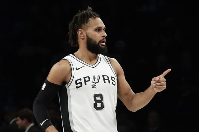 Patty Mills hits seven triples as Spurs, again without Kawhi, overcome Nets