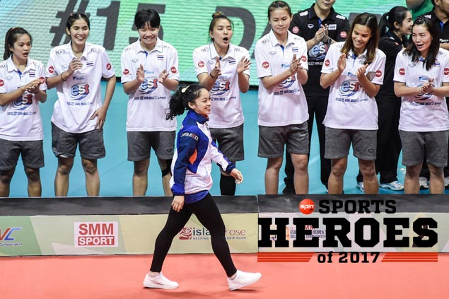 Dawn Macandili named one of theSPIN.ph Sports Heroes of 2017