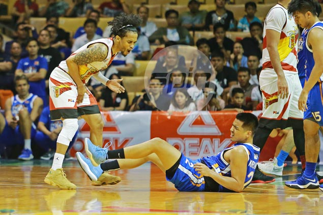Guiao-Ross verbal sparring mars San Miguel victory over NLEX in ill-tempered game