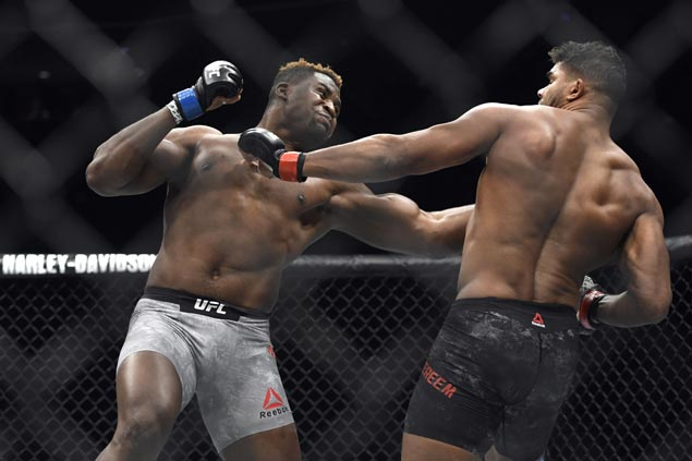 Heavy-hitter Francis Ngannou looks to power his way from homeless to UFC heavyweight champ