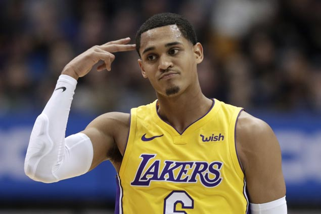 Jordan Clarkson scores 33 as Lakers missing three starters overcome Pacers