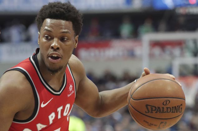 Kyle Lowry sizzlies in endgame as Raptors overcome Spurs