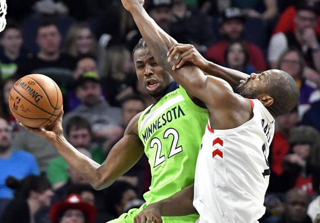 Andrew Wiggins, KAT show way as Wolves missing Butler erase double-digit deficit to beat Raptors