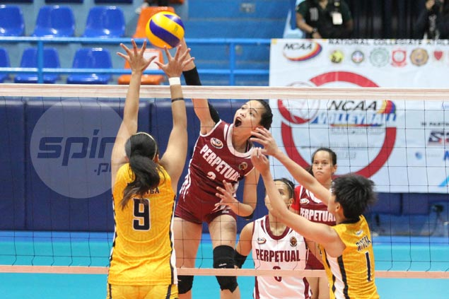 Lourdes Clemente, Cindy Imbo star as Perpetual beats JRU for third straight victory