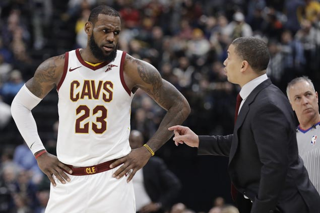 Asked if Lue could be fired, Lebron says 'I would hope not, but I really don't know'