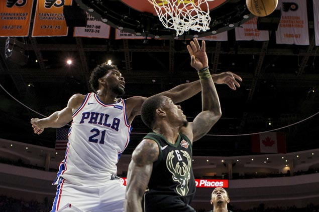 Joel Embiid, Sixers too strong for Bucks missing main man Giannis Antetokounmpo