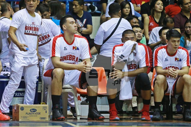Slaughter remains in doubt as Ginebra game against SMB draws near