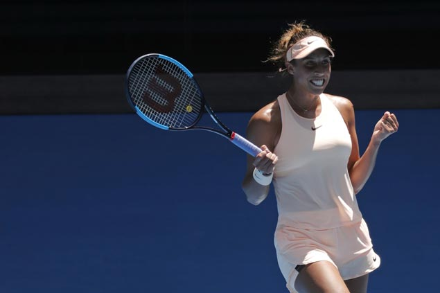 Madison Keys yet to drop a set at Melbourne Park, eases past Caroline Garcia to gain quarterfinals