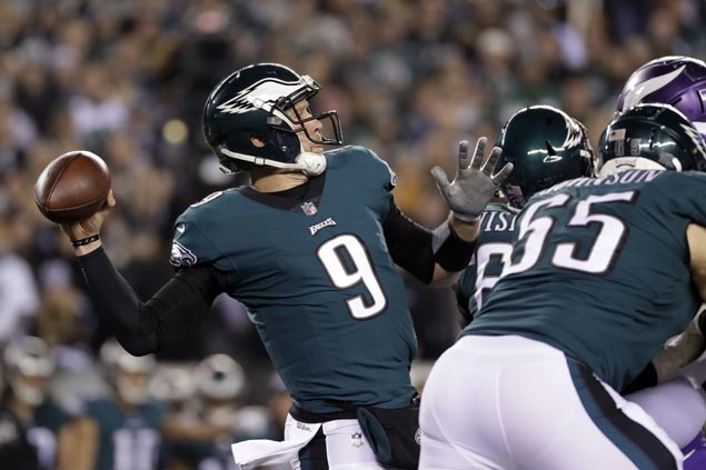 Nick Foles on fire as Eagles soar past Vikings and into Super Bowl LII