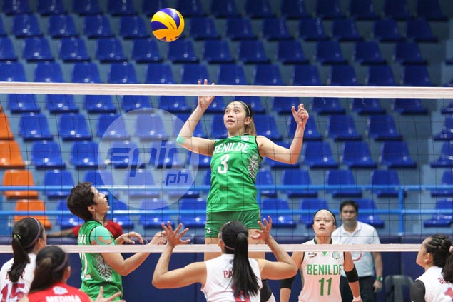 St. Benilde survives five-set scare from winless EAC in NCAA women's volley