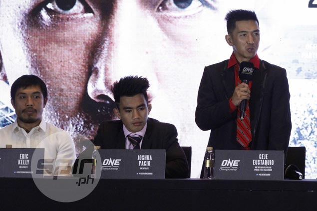Geje Eustaquio hopes sacrifices in training for Akhmetov rematch pay off with One interim title