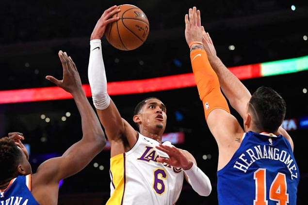 Jordan Clarkson sustains fine play and Lakers continue midseason surge