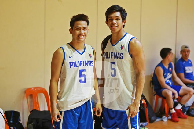 Ateneo star guard Matt Nieto joins Gilas Pilipinas practice for first time