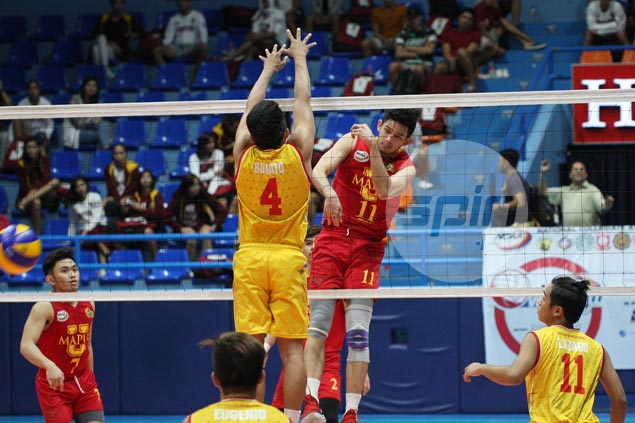 Mapua beats San Sebastian in straight sets for second win in NCAA Season 93 volleyball