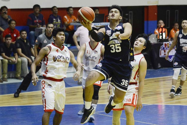 Wangs-Letran takes control early and cruises to victory over AMA Online