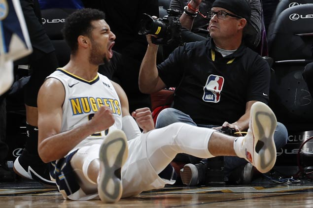 Jamal Murray scores career-high 38 as Nuggets down Blazers to spoil Jusuf Nurkic's return to Denver
