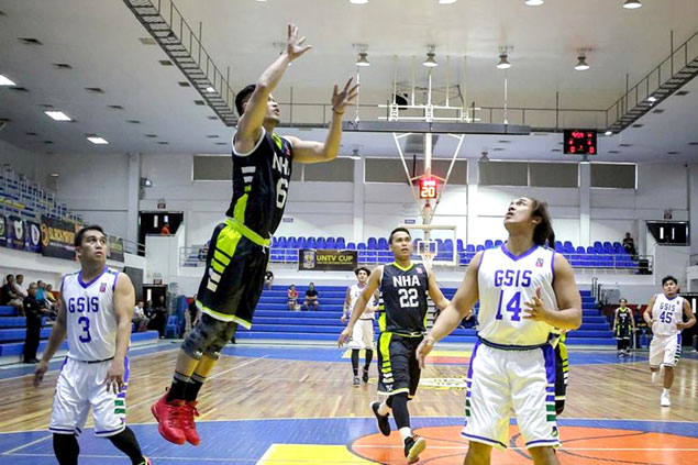 NHA Builders ride huge second quarter to victory over GSIS Furies, boost outright semis bid in UNTV Cup
