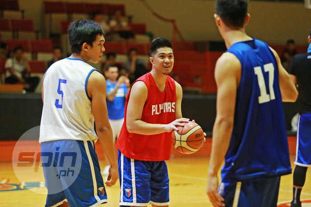 J-Jay Alejandro won't pass up chance to learn from PBA players in Gilas practice