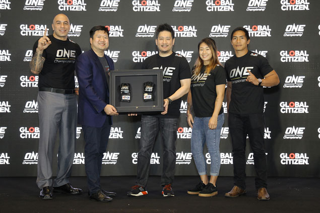 One Championship teams up with Global Citizen in fight against extreme poverty