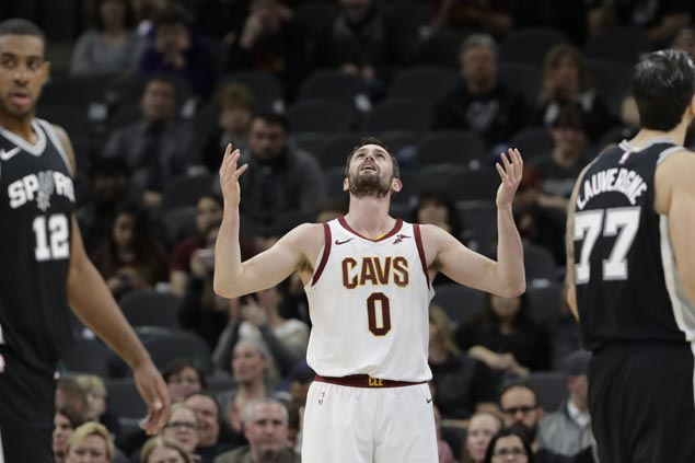 Love moves back to PF, Thompson regains starting role as struggling Cavs tweak lineup