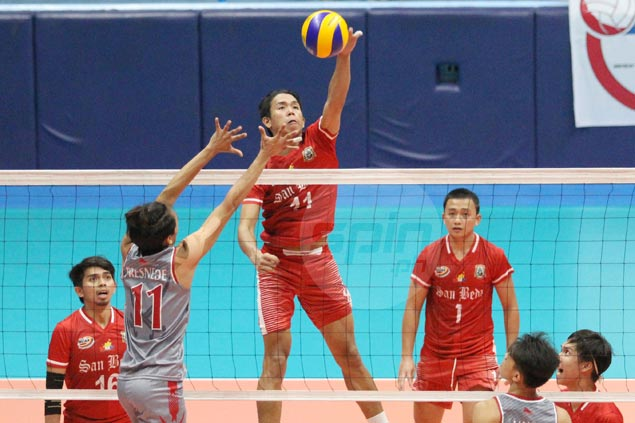 San Beda makes quick work of Lyceum for fourth straight win in NCAA volleyball