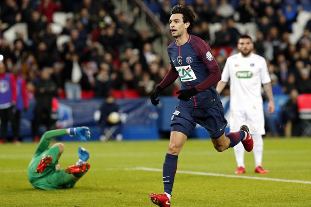 Paris Saint-Germain advances to French Cup Round of 16 with victory over Guingamp