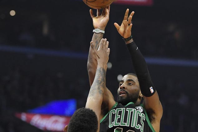 Celtics get hot from beyond  the arc to beat Clippers and arrest four-game slide