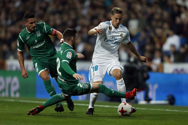 Leganes scores stunning win over Madrid at Bernabeu to advance in Copa del Rey