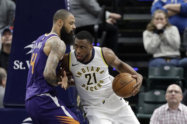 Pacers blow out Suns for the second time in 10 days