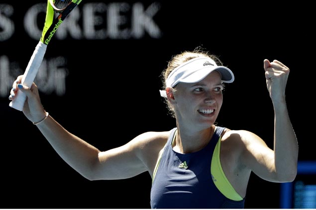 Caroline Wozniacki ends Elise Mertens run to reach Aussie Open final for first time
