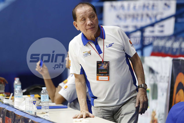Two decades after winning an MBA title, Tatay Aric wants to do the same in MPBL