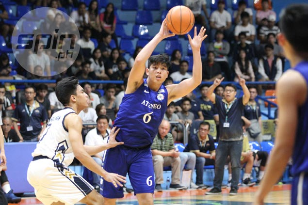 Jett Manuel's younger brother Joaqui ready to spread his wings with Blue Eaglets