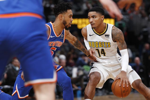 Nuggets ride strong start, balanced attack to easy win over slumping Knicks