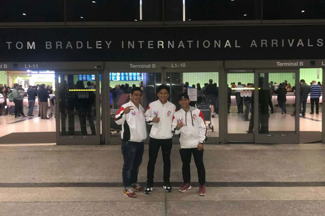 First-time US visitor Jerwin Ancajas fulfills life-long dream ahead of LA title defense