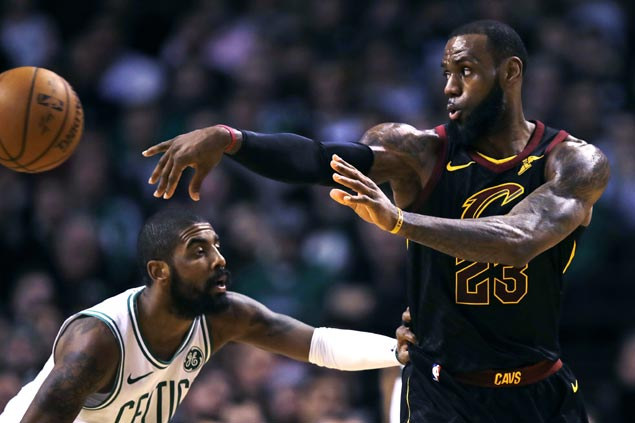 LeBron on picking Kyrie in All-Star draft: 'It was an easy choice for me'