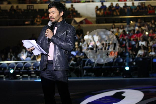 Pacquiao confident his newly launched league more sustainable than defunct MBA