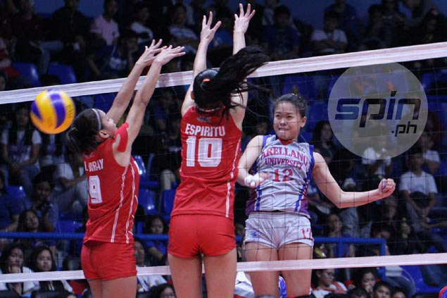 Arellano drubs San Beda to remain the only unbeaten team in NCAA women's volleyball