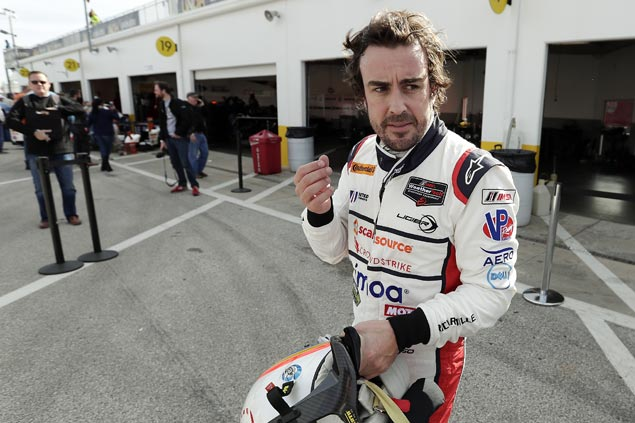 Fernando Alonso headlines star-studded Rolex 24 at Daytona
